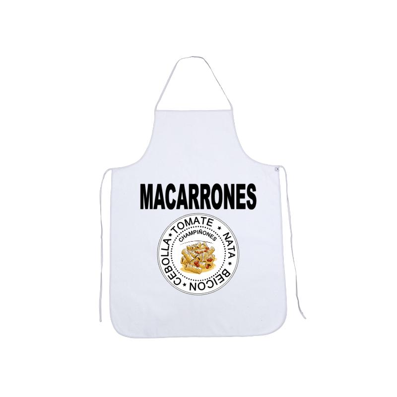 Delantales Originales - Macarrones
