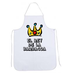Delantal El Rey de la Barbacoa
