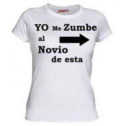 Camiseta Yo me Zumbe al Novio de Esta