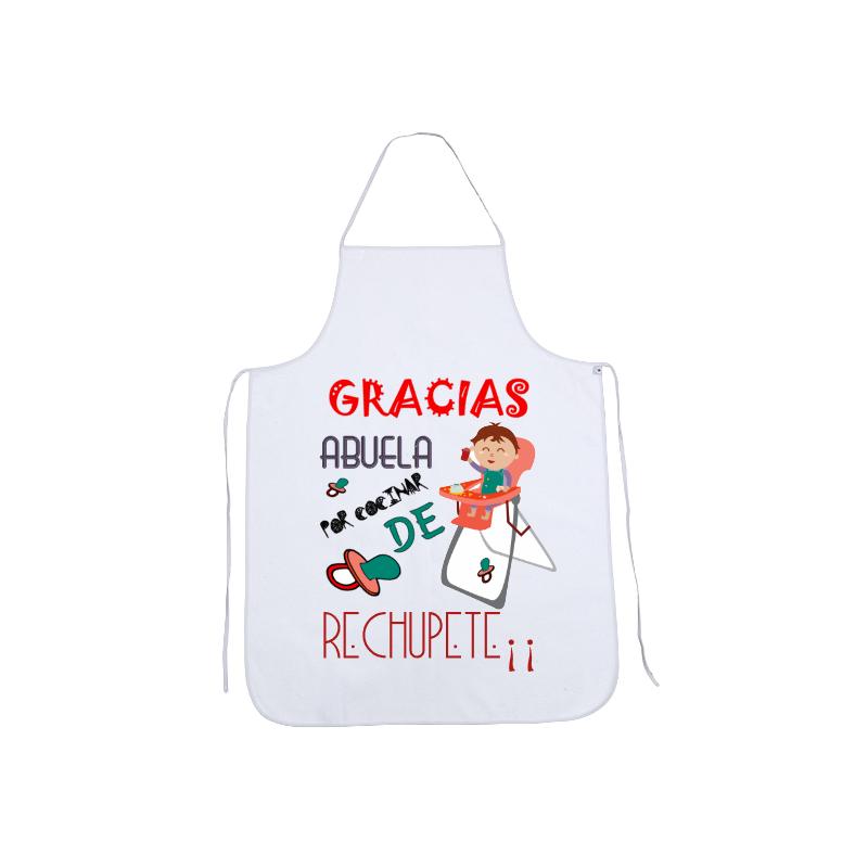 Delantales Originales - Gracias abuela por cocinar de rechupete