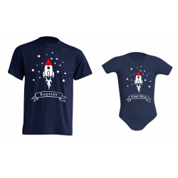 Body Bebé Gracioso - Cohete Espacial