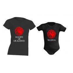 Camiseta y Body de Bebé para Madre De Dragones
