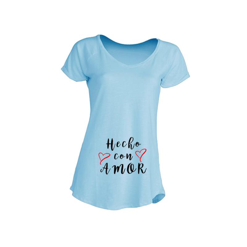Camisetas Embarazadas - Hecho con Amor