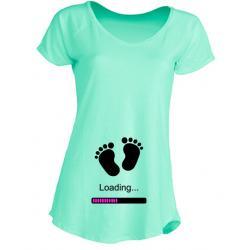 Camiseta Embarazadas - Cargando Bebé