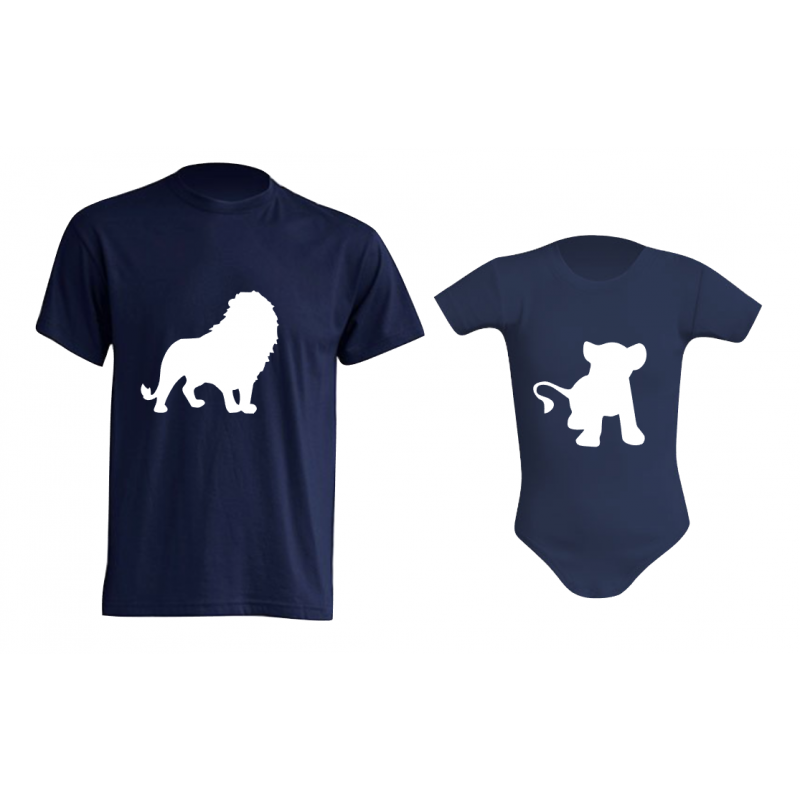 Camiseta Padre e Hijos - Rey León