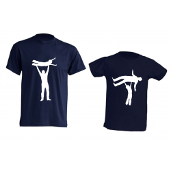 Camiseta Padre e Hijos - Papá Volador