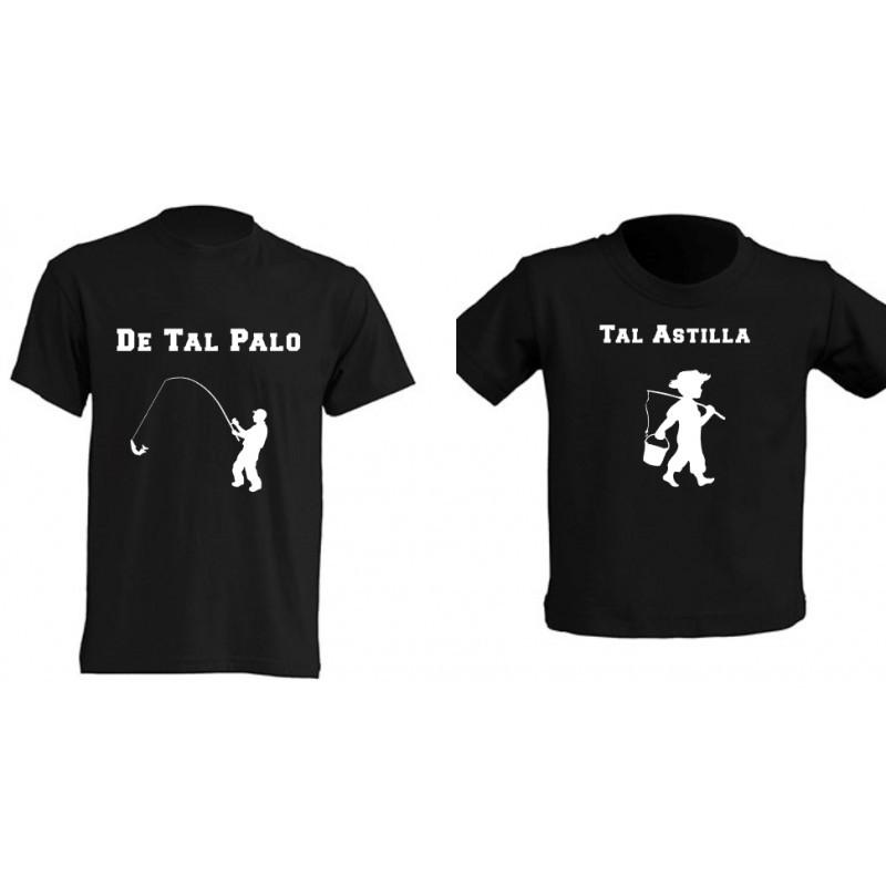 Camiseta Padre e Hijos - Pesca