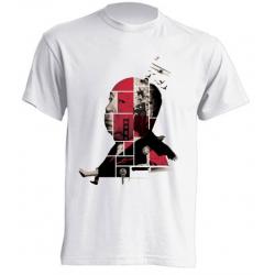 Camisetas de sublimación - Alfred Hitchcock Puzzle