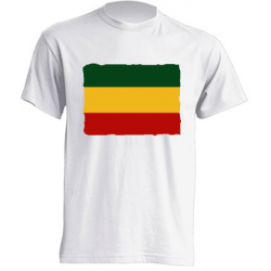Camisetas de sublimación - Bandera Reggae