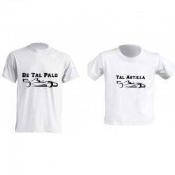 Camiseta Padre e Hijos - Coches