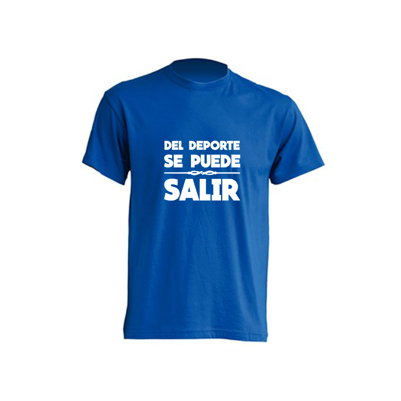 Camisetas Originales - Del deporte se puede salir