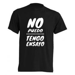 Camiseta Original - No puedo Tengo ensayo