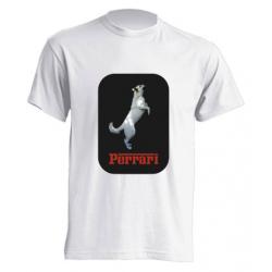 Camiseta Perrari - Con la foto de tu mascota