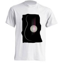 Camisetas de sublimación - Guitarra Bohemia