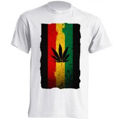 Camisetas de Sublimación - Hoja de María Reggae