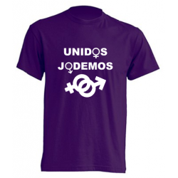 Camisetas Divertidas - Unidos Jodemos