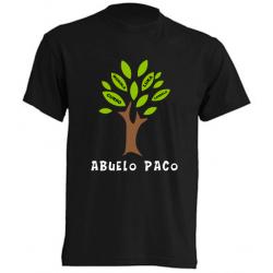Camiseta Personalizada Para Abuelos - El Arbol