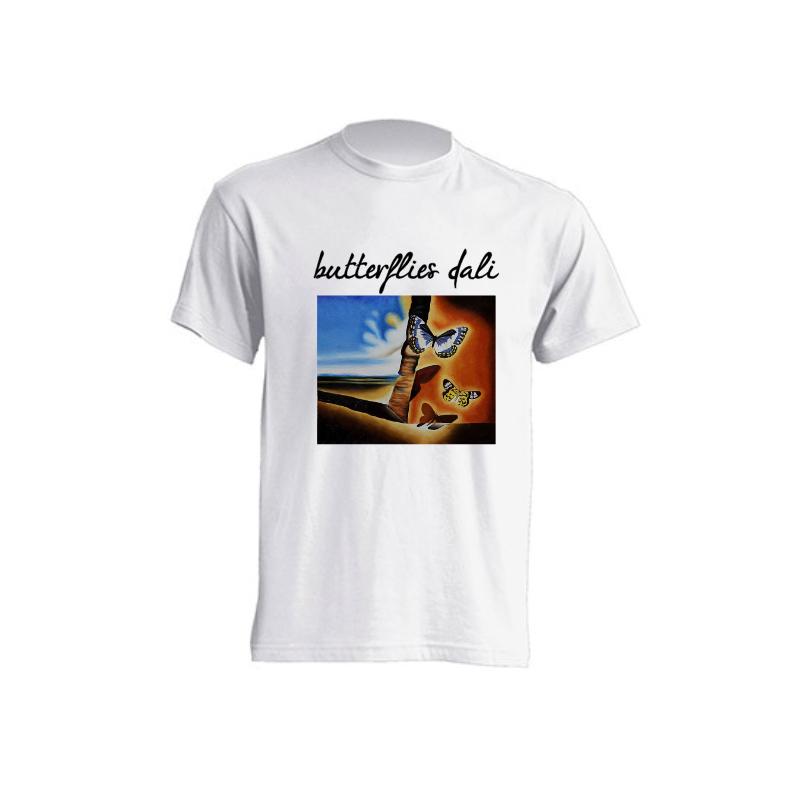 Camisetas de sublimación - Las mariposas de Dalí