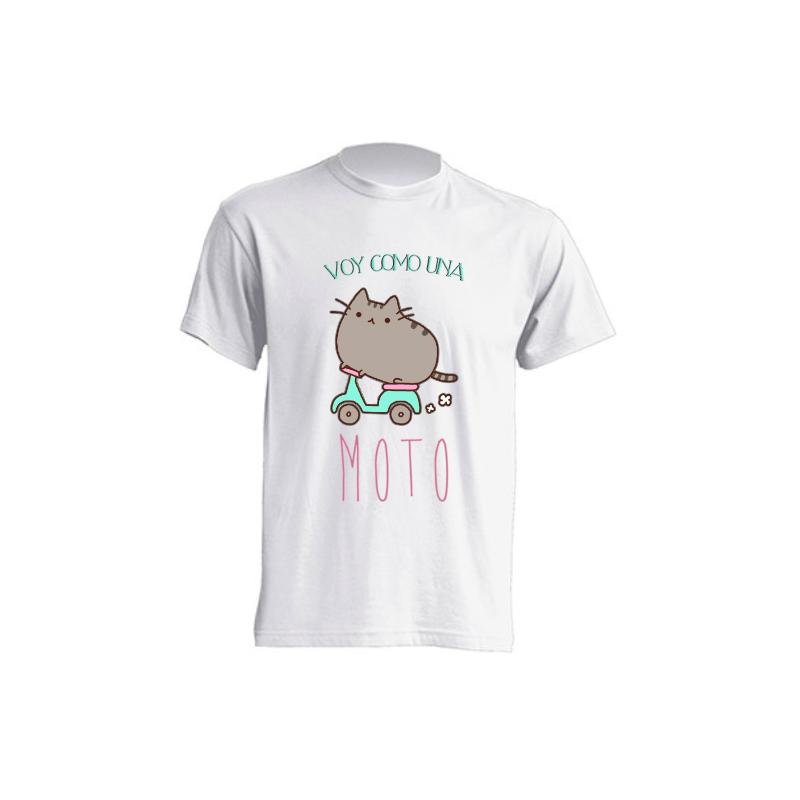 Camisetas Sublimación - Voy como una moto