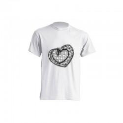 Camiseta de sublimación - Corazón a lápiz