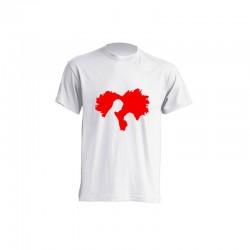Camiseta de sublimación - Silueta Pareja