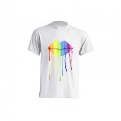 Camiseta de sublimación - Labios derretidos