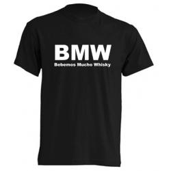 Camisetas Graciosas -  BMW Bebemos Mucho Whisky