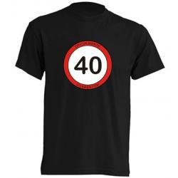 Camisetas Graciosas - Oficialmente Cuarentón