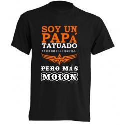 Camisetas originales - Soy un papá tatuado