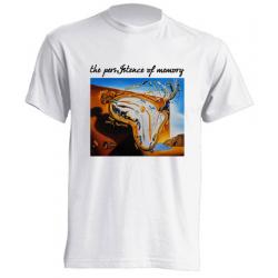 Camisetas de sublimación - The persistency of Memory