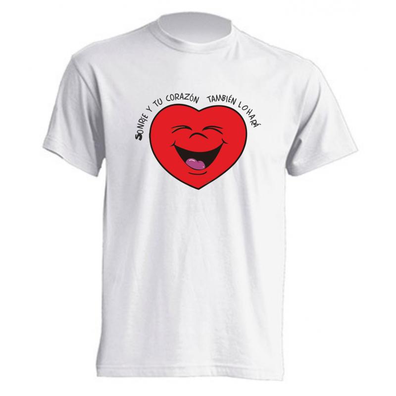 Camiseta Sonrisa Corazón