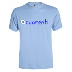 Camiseta Cuarenti