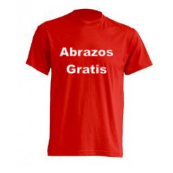 Camiseta - Abrazos Gratis