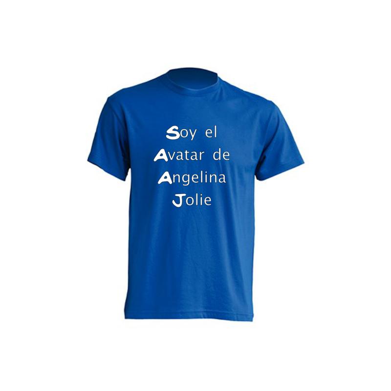 Camiseta Soy el Avatar de Angelina Jolie