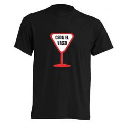 Camiseta Ceda el Vaso