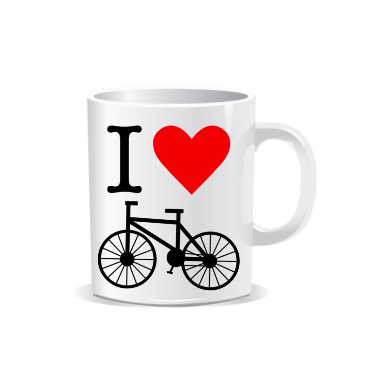 Taza I Love Bicicleta