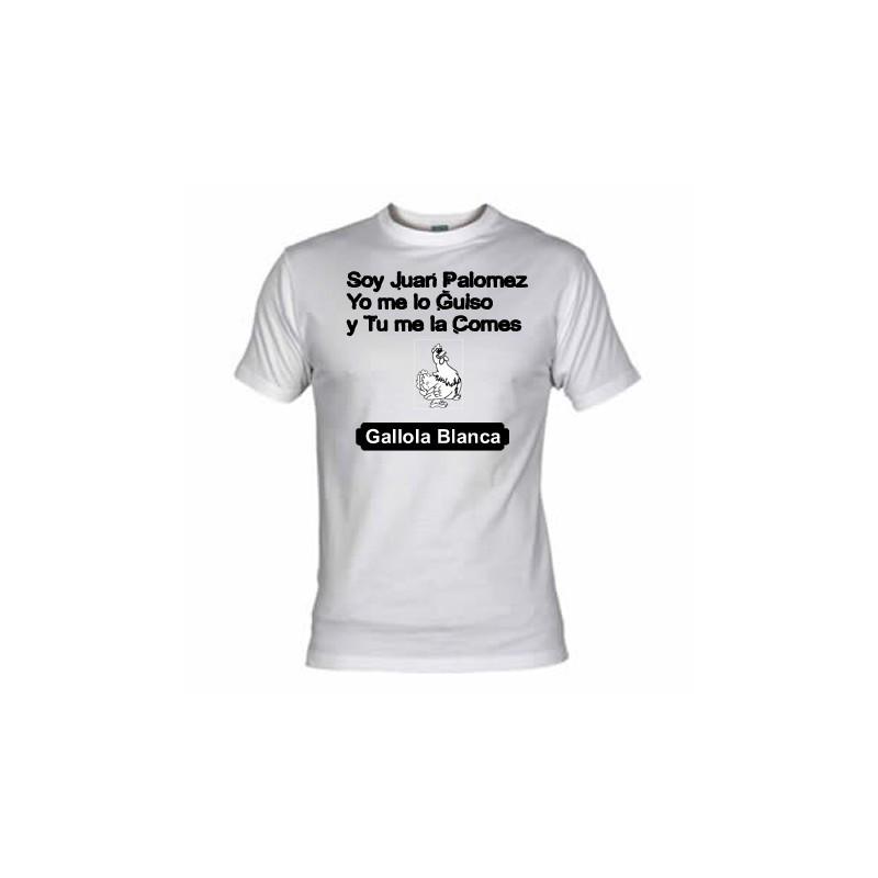 Camiseta Soy Juan Palomez....