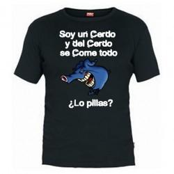 Camiseta Soy un Cerdo