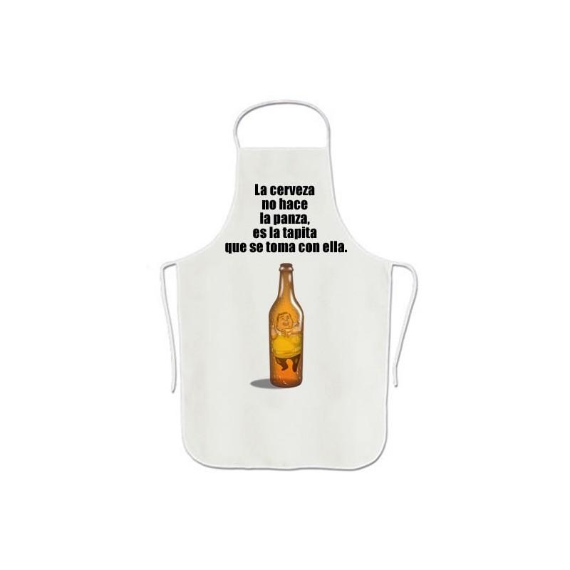 La cerveza  no hace  la panza,  es la tapita  que se toma con ella.