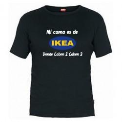 Mi cama es Ikea, Donde caben 2, caben 3