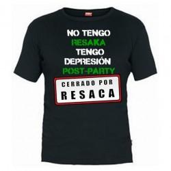 Camiseta Yo no tengo resaca tengo depresion Post-Party
