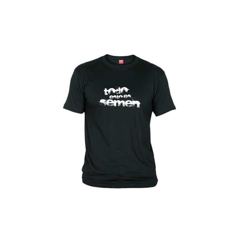 Camiseta Todo esto es Semen